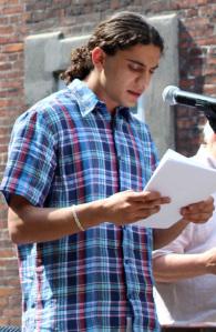 Yahya Hassan (Bild: Radikale Venstre, CC-BY-NC 2.0)