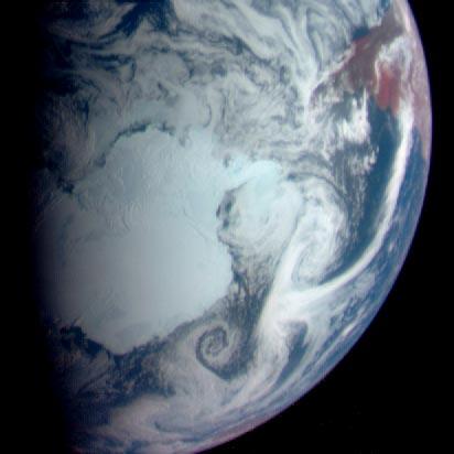 Antartika, Bild: apod.nasa.gov